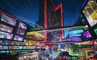 Atari staví hotely pro hráče: V každém pokoji bude konzole, celá síť hotelů vypadá jako v cyberpunkové videohře