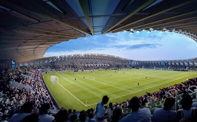 Ateliér Zahy Hadid navrhol vôbec najekologickejší futbalový štadión na svete. Bude plný dreva a obnoviteľných zdrojov