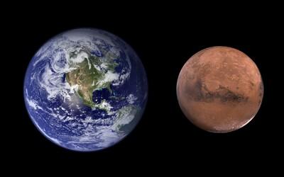 Atmosféra Marsu bola kedysi hustá a povrch planéty plný vody