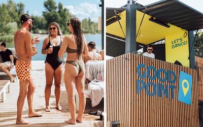 Atmosféra pravého beach clubu aj u nás v Bratislave? Ďalšia sezóna v Good Pointe je pomaly za nami