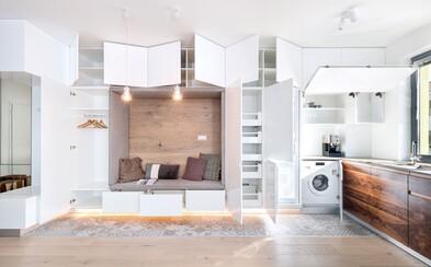 Atmosférou nabitý byt z Rusoviec, ktorý bol od návrhov až po realizáciu hotový za 4 mesiace