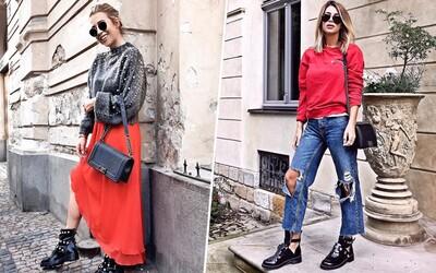 Atraktivní Češka dokazuje, že je v módě jako ryba ve vodě. Na jejím profilu najdeš inspiraci pro každé roční období