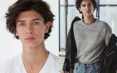 Atraktivní dánský princ se stal modelem. Teprve 18letý Nikolai okouzlil svět