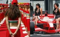 Atraktivní hostesky na F1 skončily. Kdysi tradiční zpestření závodů má být už sexistické a trapné