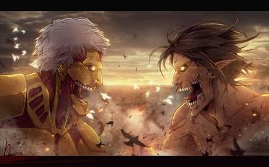 Attack on Titan dostane aj 4. sériu! Bude však poslednou