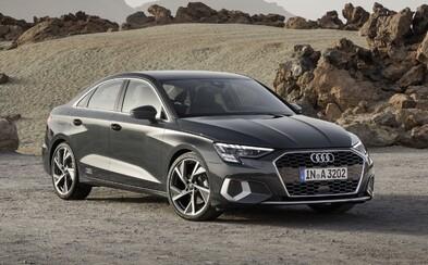 Audi A3 sedan prichádza v 2. generácii s dynamickým strihom a digitálnymi LED-kami