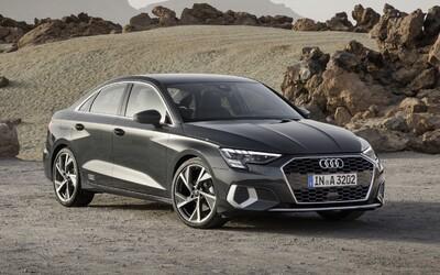 Audi A3 sedan přichází v 2. generaci s dynamickým střihem a digitálními LED světly