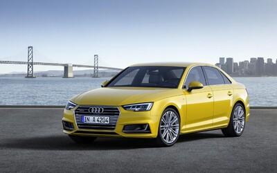 Audi A4 2016 je konečně realitou. Není to facelift, ale o 120 kg lehčí nová generace!