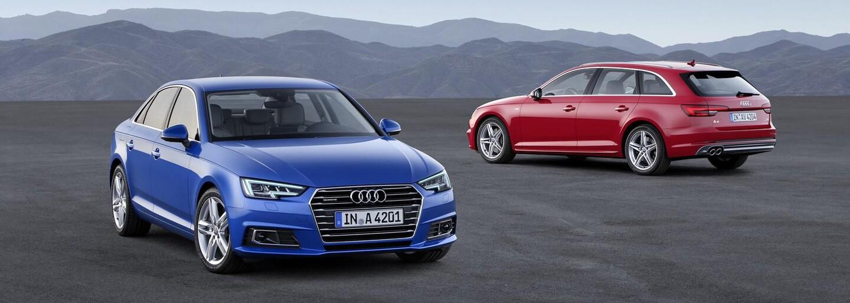 Audi A4 2016 je konečne realitou. Nie je to facelift, ale o 120 kg ľahšia nová generácia!