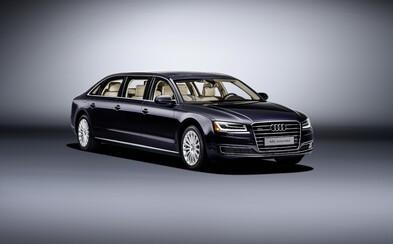 Audi A8 L Extended: 6 metrů, 6 dveří a 6 míst, to je luxusní limuzína na přání