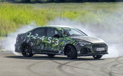 Audi poodhaľuje techniku nového päťvalcového RS3. Aj s pohonom oboch náprav dokáže driftovať