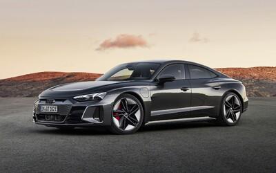 Audi představuje nádherný e-tron GT, který ve verzi RS disponuje výkonem až 600 koní