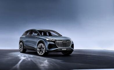 Audi prezentuje ďalšie agresívne SUV. Čisto elektrická Q4-ka má 306 koní a dojazd 450 km
