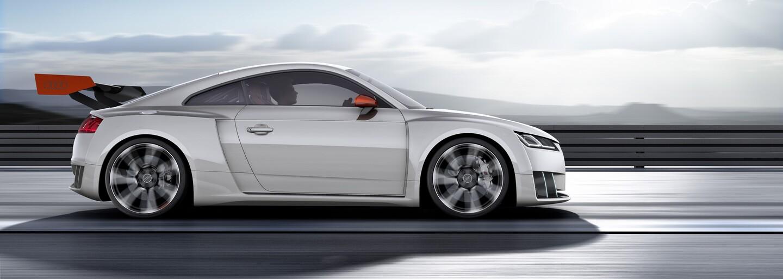 Audi privezie na zraz pri Wörthersee 600-koňové TT-čko s elektrickým bi-turbom!