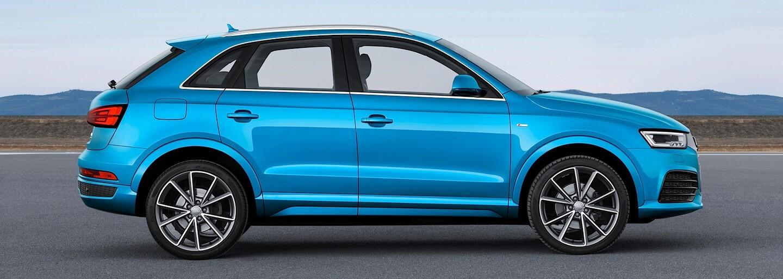 Audi Q3 a RS Q3 2015: Agresívnejšie tvary a až 340 koní pre malý crossover!