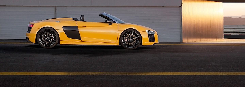 Audi R8 Spyder V10: Nádherné křivky, 540 koní a 318 km/h s větrem ve vlasech