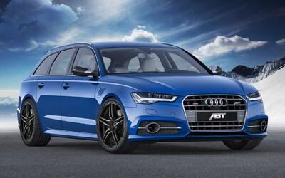Audi S6 Avant ABT: 550-koňová šelma trúfajúca si aj na RS6-tku