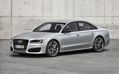 Audi S8 plus: Vyšperkovaná športová limuzína putuje s výkonom 605 na vrchol v segmente!