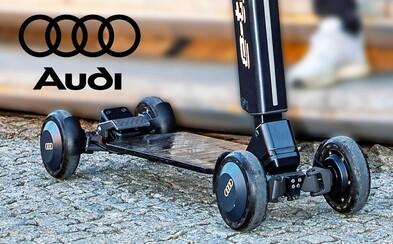 Audi zkombinovalo elektrickou koloběžku a skateboard, bude stát kolem 50 tisíc korun