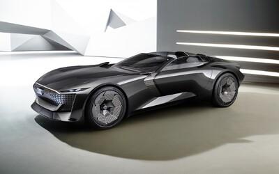 Audi Skysphere je futuristický roadster z budúcnosti, ktorý si vie upravovať dĺžku karosérie
