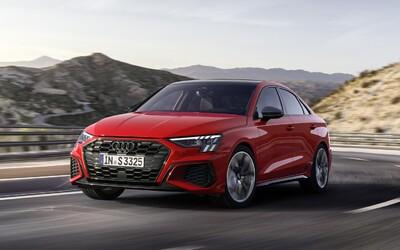 Audi slaví 20. výročí S3 novou generací. Má 310 koní a potahy z recyklovaných PET lahví