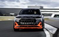 Audi tvrdí, že s vyše 500-koňovým e-tronom S bude možné driftovať