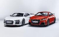 Audi vylaďuje dvojicu najostrejších športiakov. Špičkové TT RS a R8 môžu byť ešte atraktívnejšie