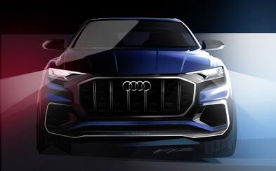 Audi začína odhaľovať úplne nové Q8. Pôjde o najluxusnejší model kombinujúci dravosť a tvary v štýe kupé