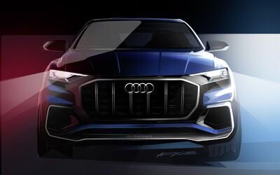Audi začíná odhalovat úplně novou Q8. Půjde o nejluxusnější model kombinující dravost a tvary ve stylu kupé