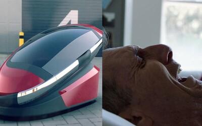 Australan vymyslel sebevražedný stroj. Pokud chceš zemřít elegantně a rychle, stačí si lehnout dovnitř a pozorovat moře