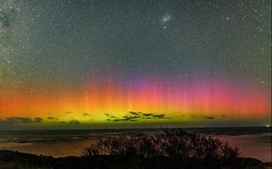 Australané se v posledních dnech těší z magické polární záře u jižního pólu. Aurora Australis není jen romantická, ale i nekonečná