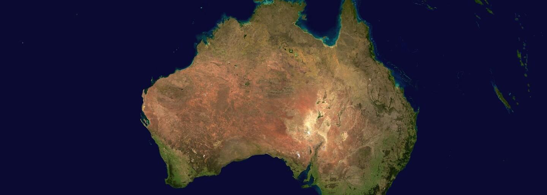 Austrália na mape zmení svoju polohu, odteraz ju nájdeme o niečo severnejšie