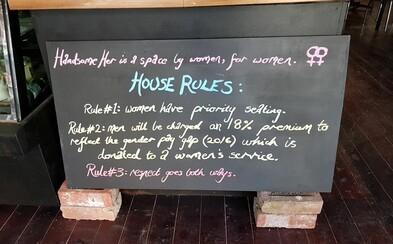 Austrálska kaviareň zaviedla mužskú daň. Chlapi zaplatia o 18 percent viac, aby si uvedomili rozdielne platové podmienky medzi pohlaviami