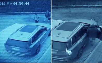 Auto ukradnuté do šiestich sekúnd. Poľská televízia na videu ukázala, že tvoj automobil nemusí byť v bezpečí