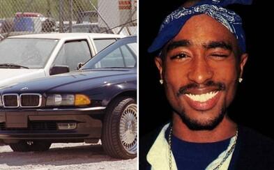 Auto, ve kterém zavraždili legendárního Tupaca, může být i tvoje. Za černé BMW si sběratel žádá v přepočtu 38 milionů korun