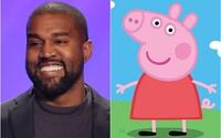 Autori kreslených rozprávok Prasiatko Peppa sa zabávajú na Kanyem Westovi: Nemuseli sme vypredať štadión a máme lepšiu recenziu
