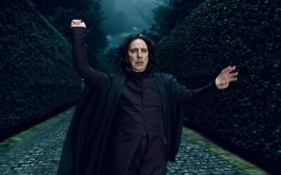 Autorka Harryho Pottera se omluvila za Snapeovu smrt. Ve světě magie je však potřeba obětí i navzdory pláči čtenářů