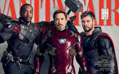 Avengeri sa fanúšikom predstavujú na parádnych fotkách! A trailer na Infinity War sa už nezadržateľne blíži