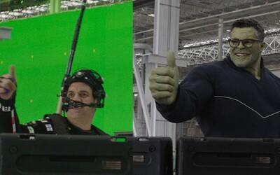 Avengers: Endgame pred a po CGI: Ako stvorili Hulka, Thanosa a epické akčné scény pomocou hercov a počítačových trikov