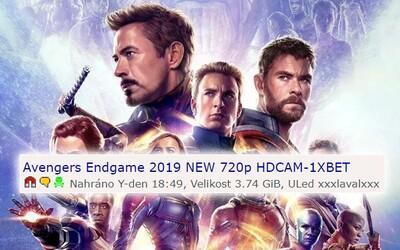 Avengers: Endgame uniklo na torrenty