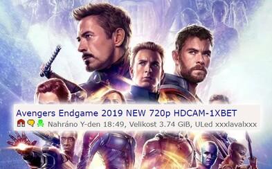 Avengers: Endgame už uniklo na torrenty