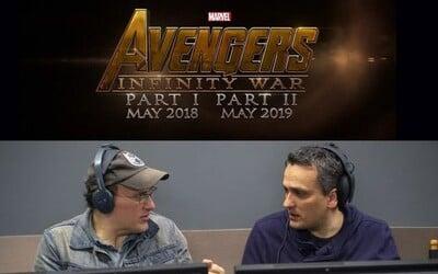 Avengers: Infinity War predsa len natočia bratia Russovci, režiséri Winter Soldiera a Civil War!