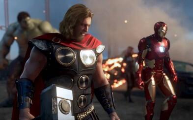 Avengers se spojují v obrovské hře. Hrát budeme moci za Iron Mana, Hulka, Thora, Captaina a ženské hrdinky
