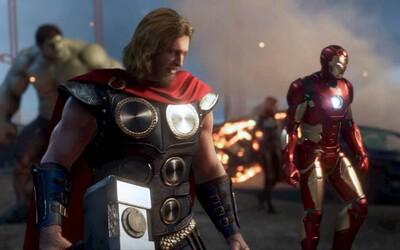 Avengers sa spájajú v obrovskej hre. Hrať budeme môcť za Iron Mana, Hulka, Thora, Captaina a ženské hrdinky