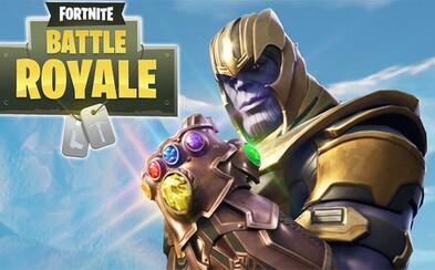 Avengers ve Fortnite? Nový update přinesl limitovaný mód, kde se můžeš proměnit v Thanose