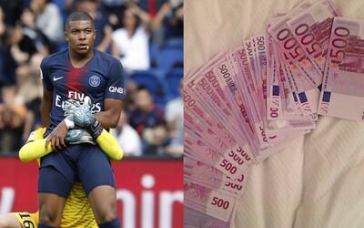 Až 30 tisíc eur měsíčně na hospodyni. Teprve 18letý Mbappe žádal od PSG smlouvu, o jaké většina hráčů jen sní