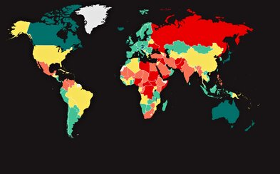 Až v 92 krajinách došlo k zhoršeniu bezpečnosti. Slovensko sa ocitlo v takmer najlepšej skupine