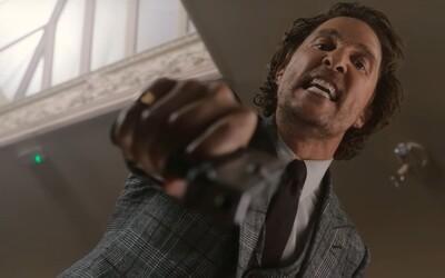 Ázijskí drogoví díleri začnú bitku gangov s McConaugheym, Hunnamom, Farrellom a ďalšími. Gentlemen sú klasickí britskí gangstri