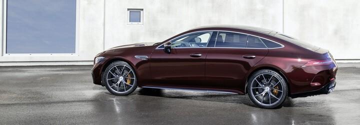 AMG vylepšilo čtyřdveřové GT. Zprvu nabídne šestiválce, čeká se ale na bestii o více než 800 koních