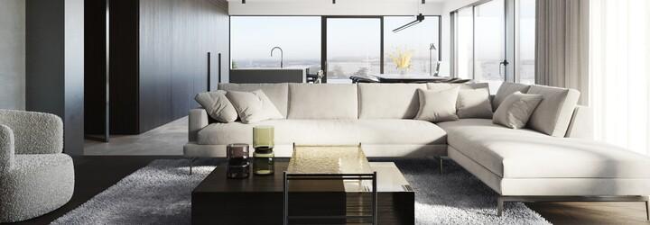 Vyše 200 metrov štvorcových, kvalitné materiály a minimalizmus. Predstavujeme bývanie snov na brehu Vltavy